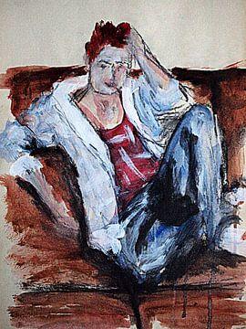 Susans sofa van Anita Snik-Broeken