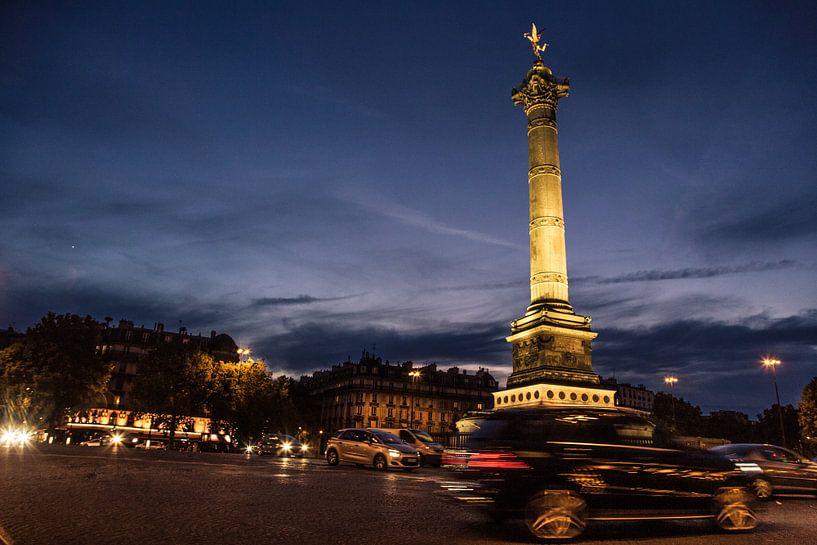 Place de la Bastille van Melvin Erné