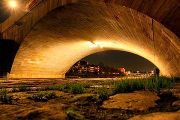 Boogbrug naar Regensburg van Roith Fotografie