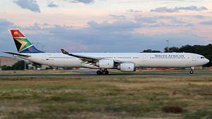 Zuid-Afrikaanse Airbus A340-600