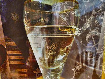 glas naar dali surrealistische beeld van Groothuizen Foto Art