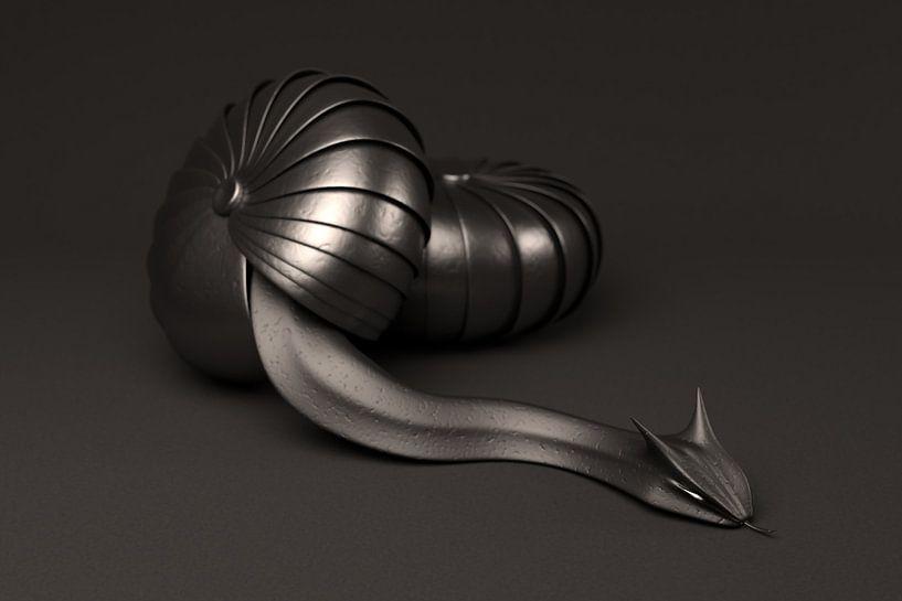 Alien Snake van Jörg Hausmann