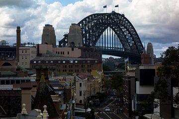 The Rocks and Sydney Harbour Bridge van Tessa Louwerens