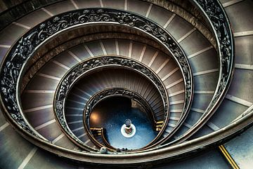 Wendeltreppe Vatikan ... von Robert Van Der Linde