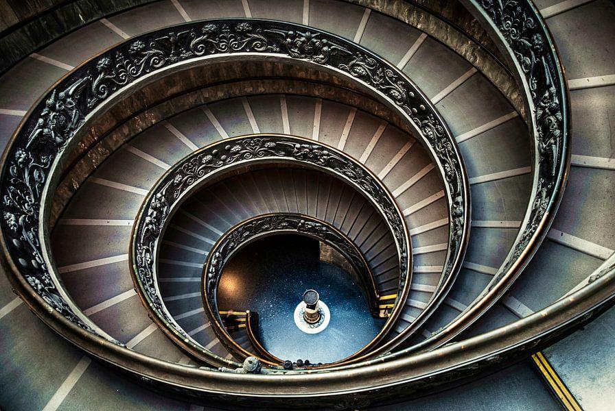 Spiraaltrap Vaticaan .... van Robert Van Der Linde