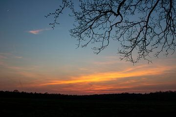 Sonnenuntergang in Schipborg