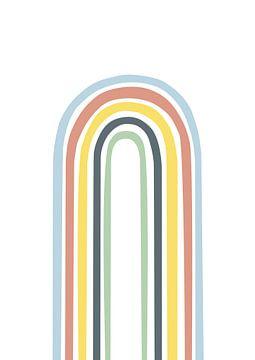 Regenbogen abstrakt bunt