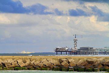 De pier..aan de horizon van Micky Bish