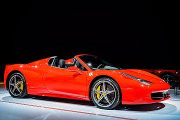Ferrari 458 Spider sportwagen van Sjoerd van der Wal