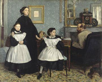 Die Familie Bellelli, Edgar Degas