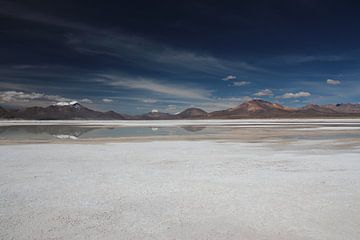 Salzebene Chile, in der Nähe von San Pedro de Atacama von A. Hendriks