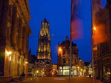 Utrecht is klaar voor de Tour de France. van George Ino