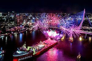 Rotterdam - Wereldhavendagen Vuurwerkshow van