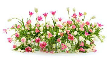 Tulpenstilleben 2020 von Dirk Verwoerd