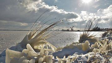 Winterlandschap Veluwemeer van On The Road Foto