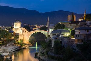 Stari most - Die alte Brücke in Mostar von Dennis Eckert