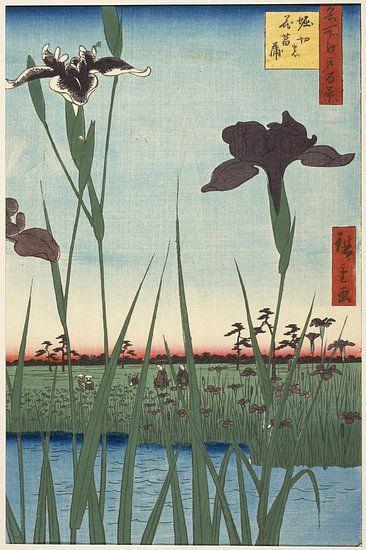 Utagawa Hiroshige. One Hundred Famous Views of Edo van 1000 Schilderijen