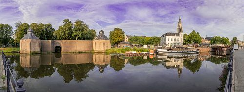 Panoramafoto Breda - Haven -Spanjaardsgat - Grote Kerk