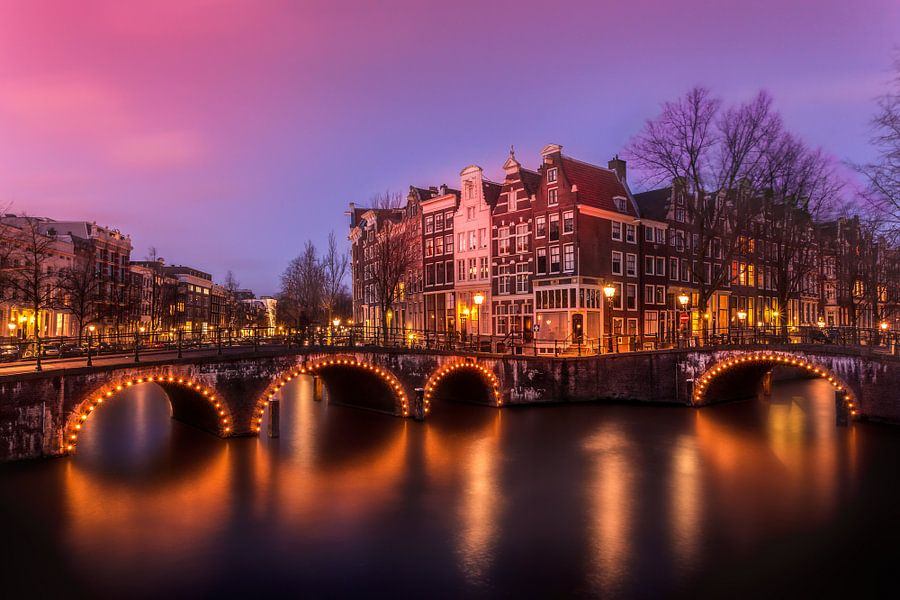 Keizersgracht, Amsterdam van B Tindal