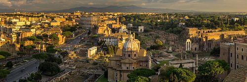 Forum Romanum en het Colosseum