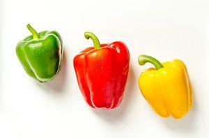 drie paprika's gratis bord