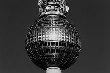 Berlijn Televisietoren van Frank Herrmann