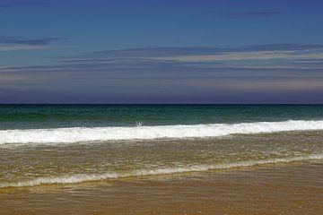 Whiterocks Beach - Irlanda prachtige natuurlijke kustlocatie met de witte rotskalkstenen kliffen die van Babetts Bildergalerie