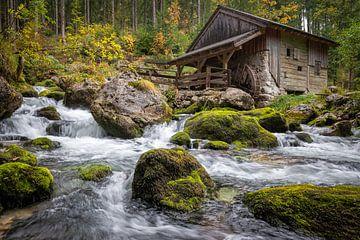 Gollinger Wasserfall (Salzburg) - Wassermühle von Michael Blankennagel