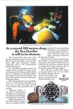 ROLEX ADVERTISING '89 sur Jaap Ros