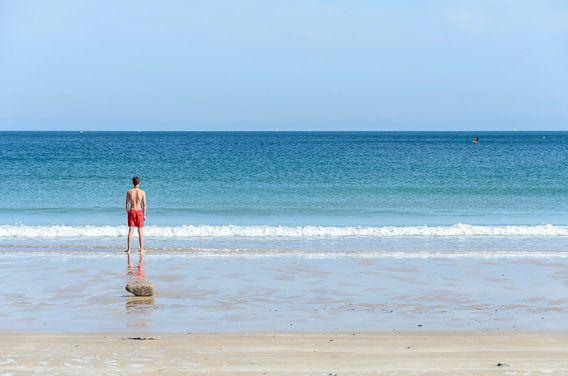 Klaar voor een duik in Bretagne.