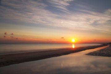 Zonsondergang von Pieter limbeek