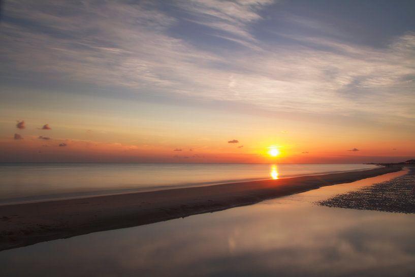Zonsondergang van Pieter limbeek