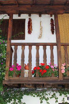 Le balcon espagnol sur Inge Hogenbijl