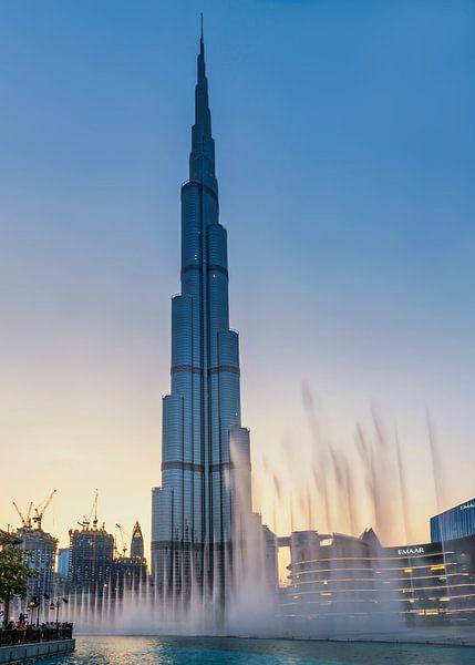 Burj Khalifa Fountain van Bart Hendrix