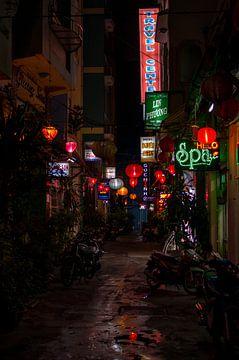 Steegje in Saigon van Boudewijn Tempelmans