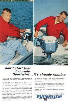 EVINRUDE ADVERTISING 60S sur Jaap Ros