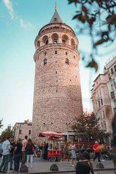 Galata Tower van