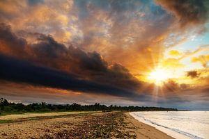 Dramatische zonsopkomst Madagaskar