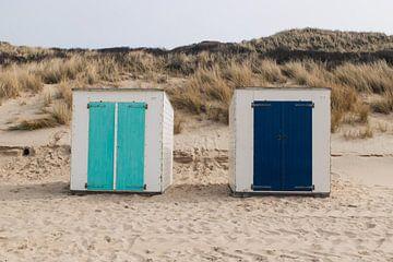 Strandhäuschen Domburg (Zeeland) von Quinten Tolboom