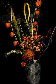Blumenstrauss im Halloween-Stil von Ineke Huizing