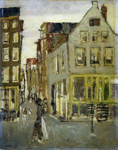 De Lauriergracht bij de Tweede Laurierdwarsstraat, George Hendrik Breitner