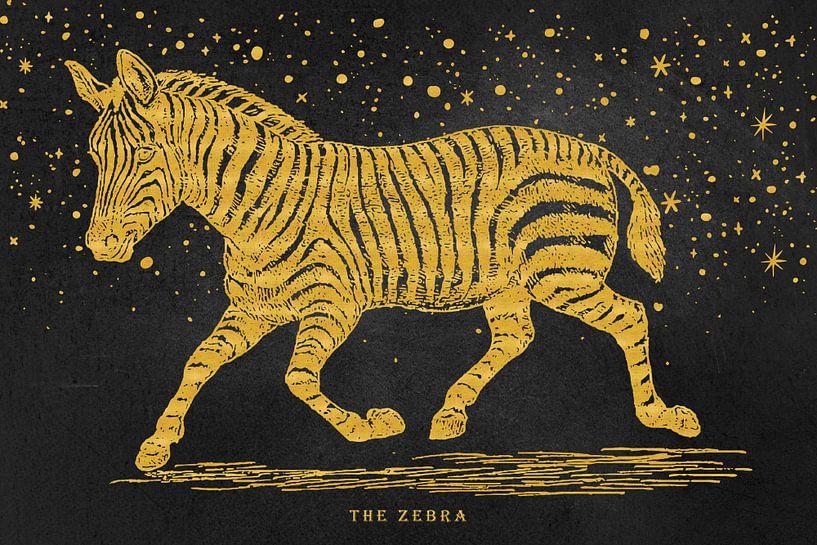 The golden Zebra von Angela Dölling