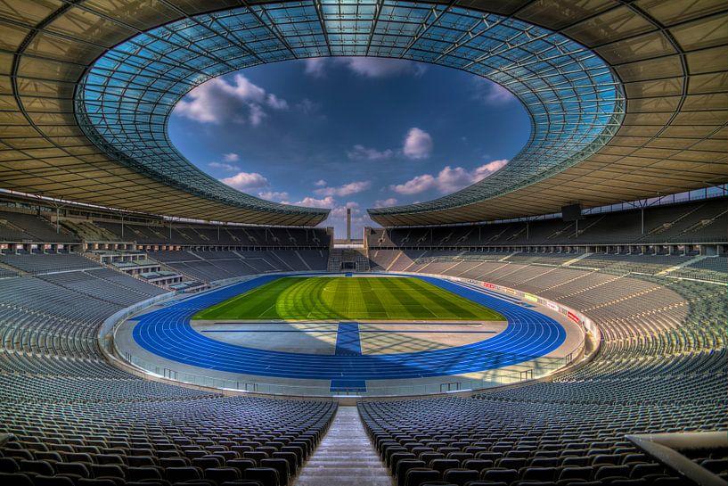 Olympiastadion Berlin von Rene Ladenius Digital Art