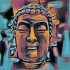 Buddha Bunt 07032021 - Chromium von Michael Ladenthin Miniaturansicht