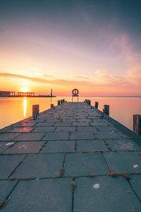 Balaton, Balatonmeer Haven van Tihany van Fotos by Jan Wehnert