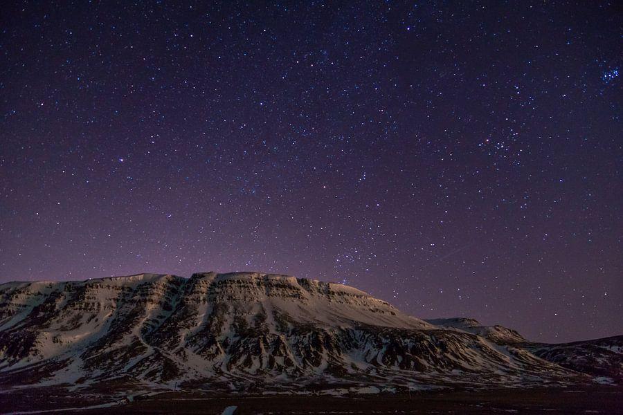 Sterrenlucht in IJsland