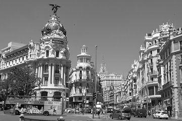 Gran Via, Madrid von Ilona van der Burg