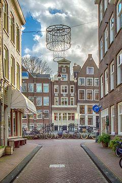 Looiersgracht Amsterdam van Peter Bartelings Photography