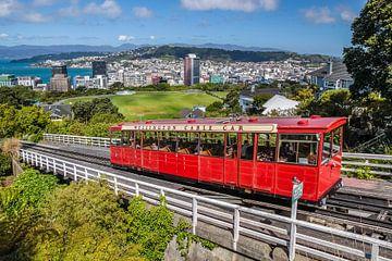 Téléphérique à Wellington, Nouvelle-Zélande sur Christian Müringer