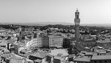 Uitzicht over Siena van Henk Meijer Photography
